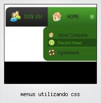 Menus Utilizando Css