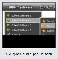 Mfc Dynamic Mfc Pop Up Menu
