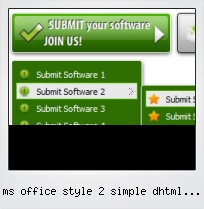 Ms Office Style 2 Simple Dhtml Menu