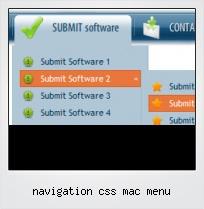 Navigation Css Mac Menu