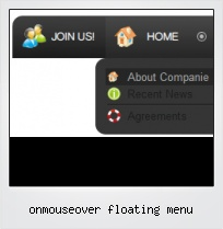 Onmouseover Floating Menu