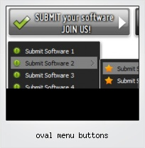 Oval Menu Buttons