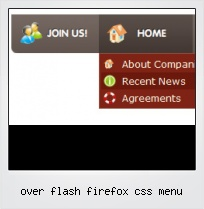 Over Flash Firefox Css Menu