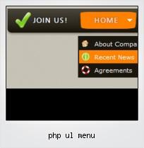 Php Ul Menu