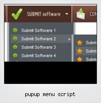 Pupup Menu Script