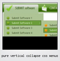 Pure Vertical Collapse Css Menus