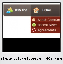 Simple Collapsibleexpandable Menu
