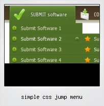 Simple Css Jump Menu
