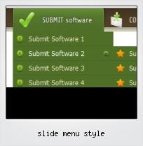 Slide Menu Style