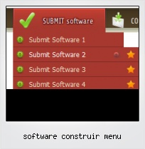 Software Construir Menu