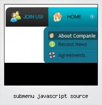 Submenu Javascript Source