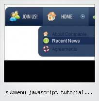Submenu Javascript Tutorial Onmouseover