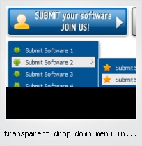 Transparent Drop Down Menu In Iframe