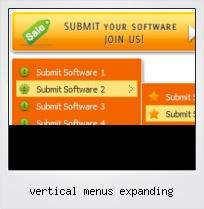 Vertical Menus Expanding