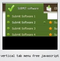 Vertical Tab Menu Free Javascript