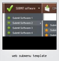 Web Submenu Template