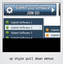 Xp Style Pull Down Menus