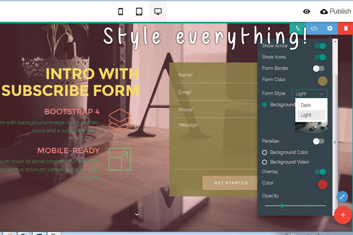 Free Responsive Web Creator Software