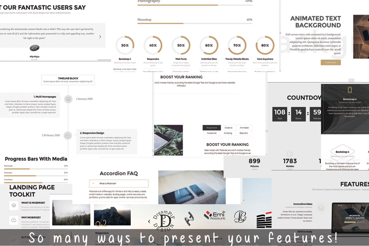Bootstrap Responsive Site Builder Review
