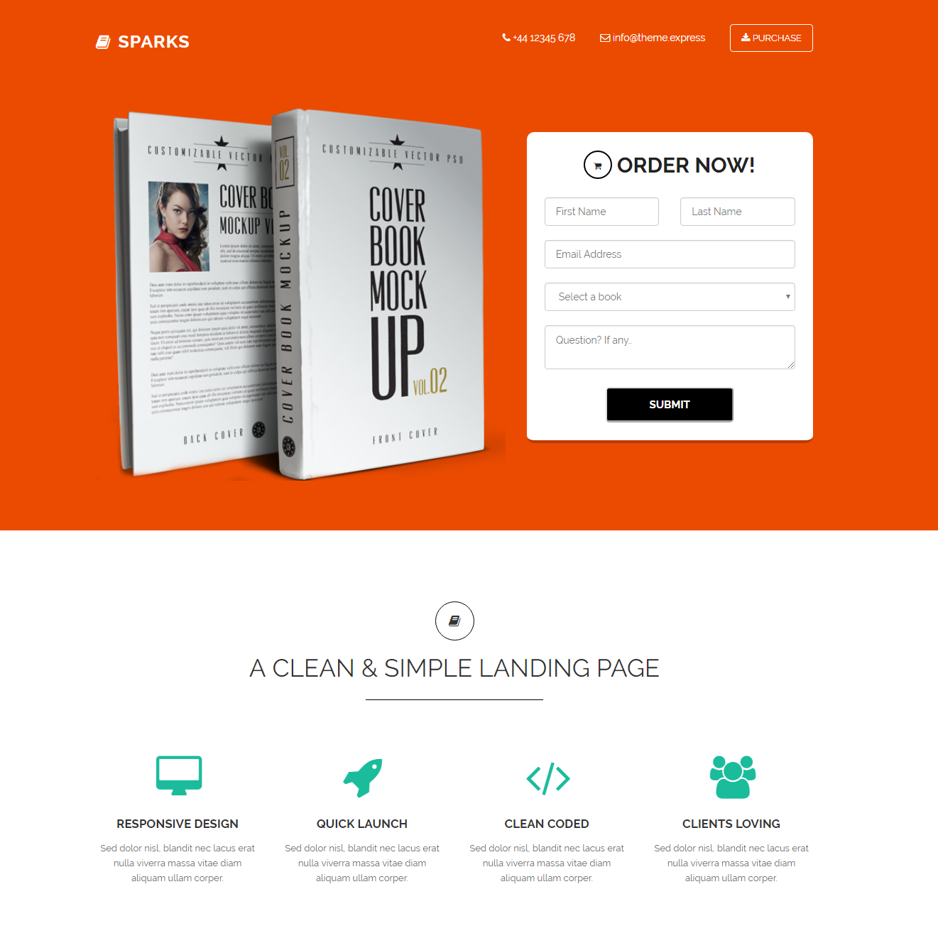 CSS3 Bootstrap Sparks Themes