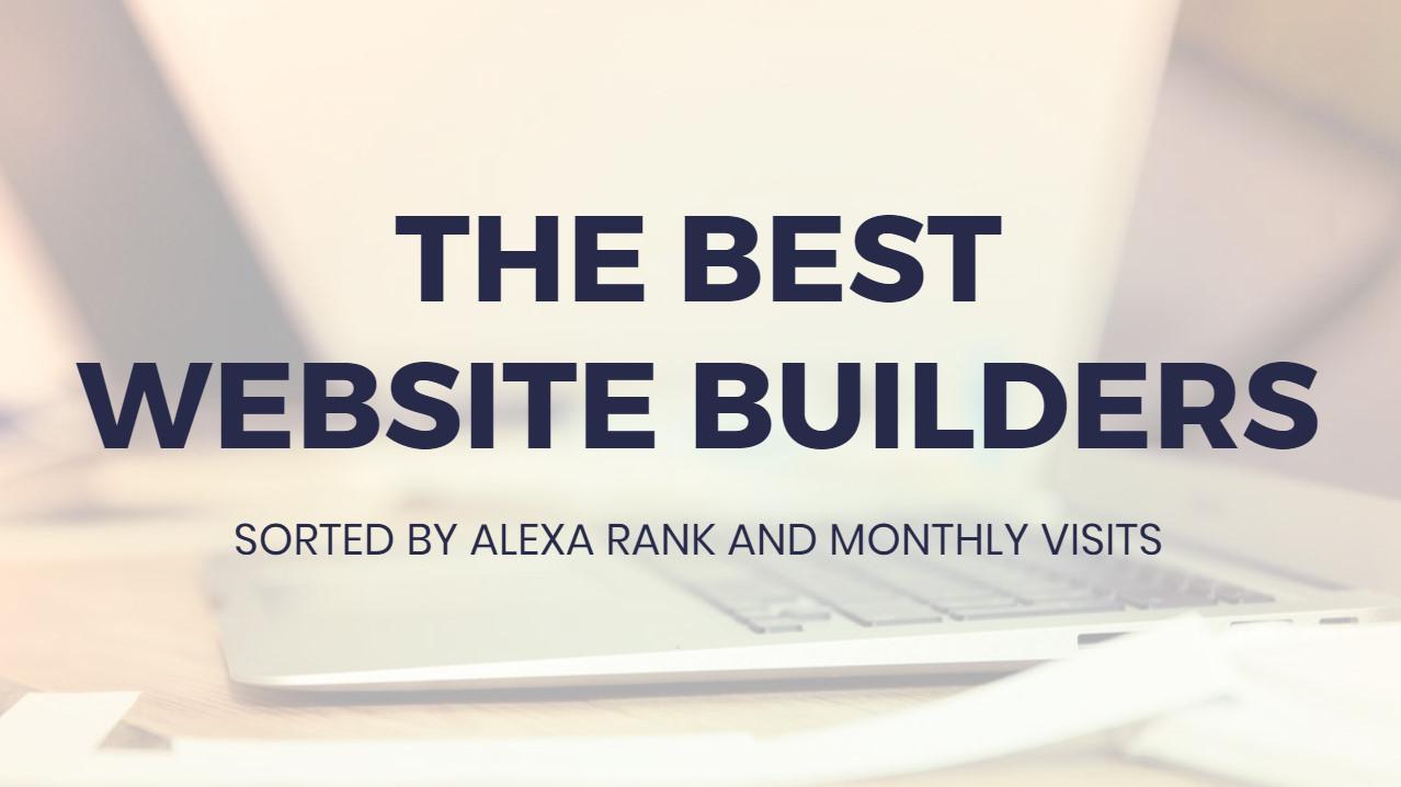 Absolute best  Internet Site Builders