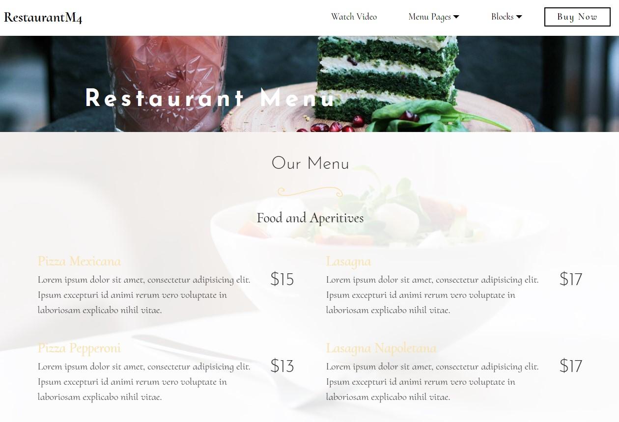 Modern Website