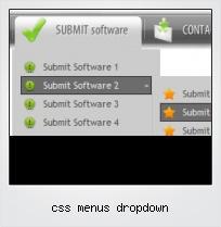 Css Menus Dropdown