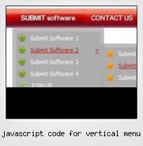 Javascript Code For Vertical Menu